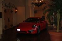 David Gerly's beautiful 991 on display inside Hotel Encanto