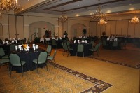 "Saturday banquet at Hotel Encanto's ""Tularosa"" ball room"