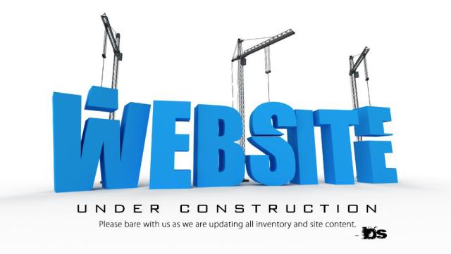 Website under_construction sign