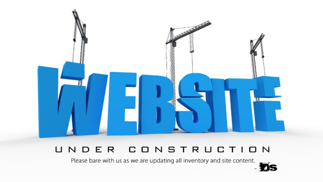 Website under_construction sign